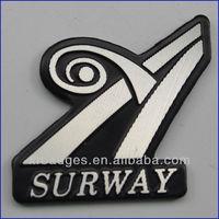 Customized Permanent Metal Labels Logo