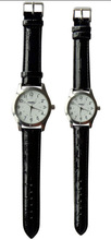 hot selling pair watch alloy case PU leather strap