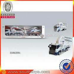 friction die cast ambulance car