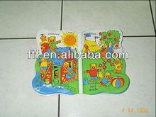 Inflatable bath book