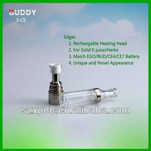 2013 wax vaporizer mini dry herb/ dry herb for wax/ charming design globe glass atomizer