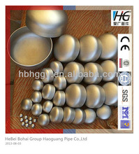 stainless steel pipe gas cap pipe fittings
