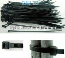 Double lock type nylon cable tie belt