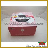 corrugated cardboard cake boxes