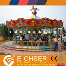 Children games carousel ride music carousel horse