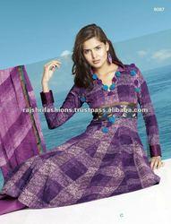 Unstitched Ladies Punjabi Salwar Suits