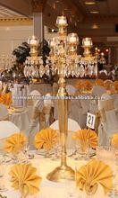 Gold Candelabra 2012 Latest wedding centerpieces