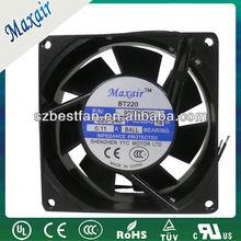 industrial 92x92x38mm electric ac fan motor 115V/230V