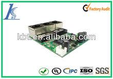 smart mini 3 port network switch PCBA, circuit maker for pcba network