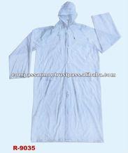 military rainsuit raincoat,police rainsuit- 0.12mmPVC long raincoat