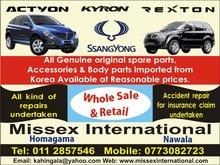 SsangYong - Rexton, Kyron, Actyon