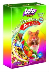 Vegetable and fruit food for hamster 2 in 1