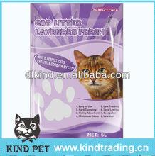 2013 Sample free natural clumping bentonite fussie cat cat sand lemon refresh