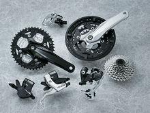 mountain bicycle groupset/MTB Alivio M430 9 speed groupset/complete bike kits