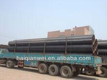 longitudinal welded black steel pipe gas pipeline API5L