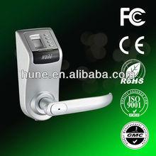 Fingerprint+Password+Mechanical key door lock