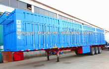China widely used large capacity cargo box trailer