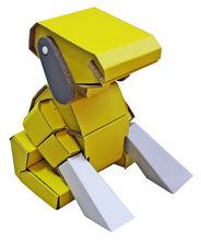 kid paper robot toy, robotic fish toy
