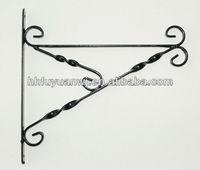 Wall Metal Bracket for Hanging Lights or Planter Baskets Indoor Outdoor
