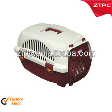 plastic handle pet carrier