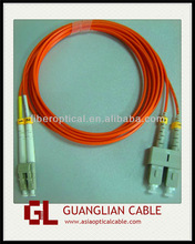 SM/MM Simplex/Duplex fc/apc fiber jumper for FTTH solution