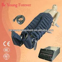 new air pressure lymphatic drainage machine 12pcs airbags jacket