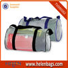 transparent secret present canvas travel bag for new year