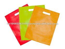 PP Non-woven Die Cut Handle Shopping Bags