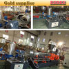 PE recycle material double screw extrusion for pelletizing plant