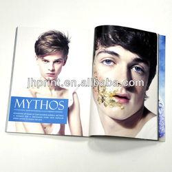 print monthly magazine. print high quality magazine
