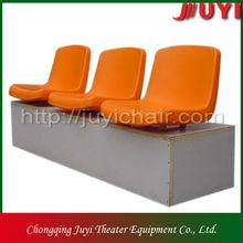BLM-1311 Cheap Promote PE Blow Mounted Stadium Plastic Seat pp folding chair