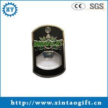 Factory product custom design metal bottle opener keychain maker
