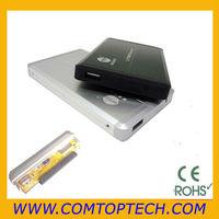 "Portable External USB 2.0 Hard Disk Drive 2.5"" IDE Enclosure HDD Case"