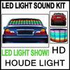 90x10CM 5 COLORS SOUND MUSIC ACTIVATED EL CAR STICKERS EQUALIZER LED LIGHTS
