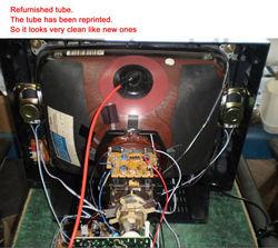 big speaker fatory-made 21inch crt color tv