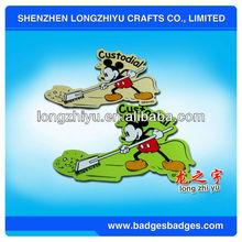 Customized Shamrock\/four leaf clover design bookmark favors