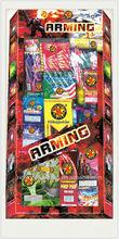 Fogos de artifício variedade de fornecimento para a cadeia de lojas