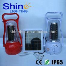 green source CE/RoHS/IP65 certificate led lantern camping solar cfl lantern