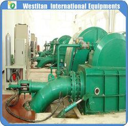 50kw to 10000kw impulse water wheel/Angular impulse water turbine/hydroturbine
