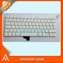 New ! Keyboard for Macbook Unibody A1342 MC516LL/A Laptop , Danish Denish Denmark Layout , White Color