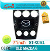 LSQ Star Hd Touch Screen Old Mazda 6 Indash Media Player With Gps Navigation