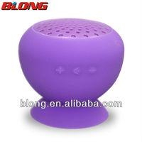 wireless microphone mini speaker with sucking cup Portable bluetooh sucker speaker