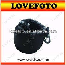 Manufacturer neoprene soft Lens Bag& Lens Pouches for Camera Micro Lens
