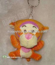 HI high qualiy wholesale mini tiger keychain