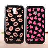 Wholesale Luxury Electroplating Lips Pattern Luxury Hard Case for Samsung Galaxy S4 i9500