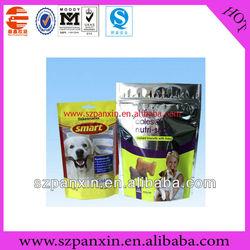 100g dog food bag packing, dog food plastic bag