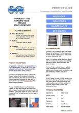 Ceramic Tiles & Mosiac stain remover