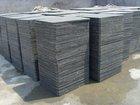 Plastic cement brick production pallets