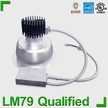 UL 277V cob 8inch led downlight design for Amercial Market with 8inch 18W 23W 27W 33W 40W options 8 led downlight