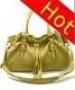 2012 crinkle fashion handbag PU women ladies handbag